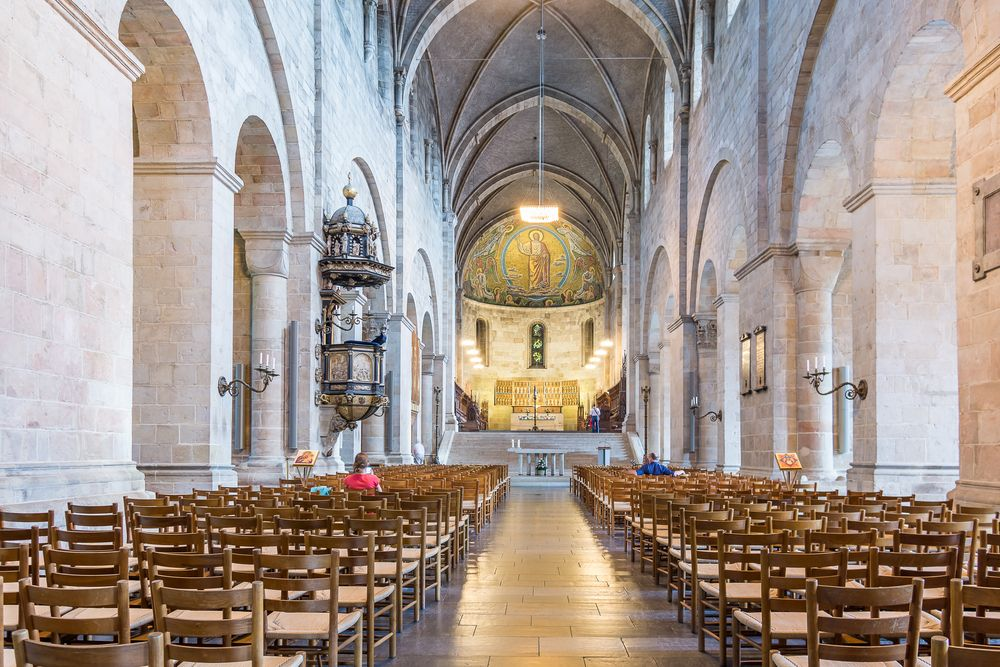 Interior of Lund Cathedral
