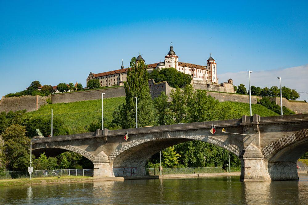 Main River in Wurzburg