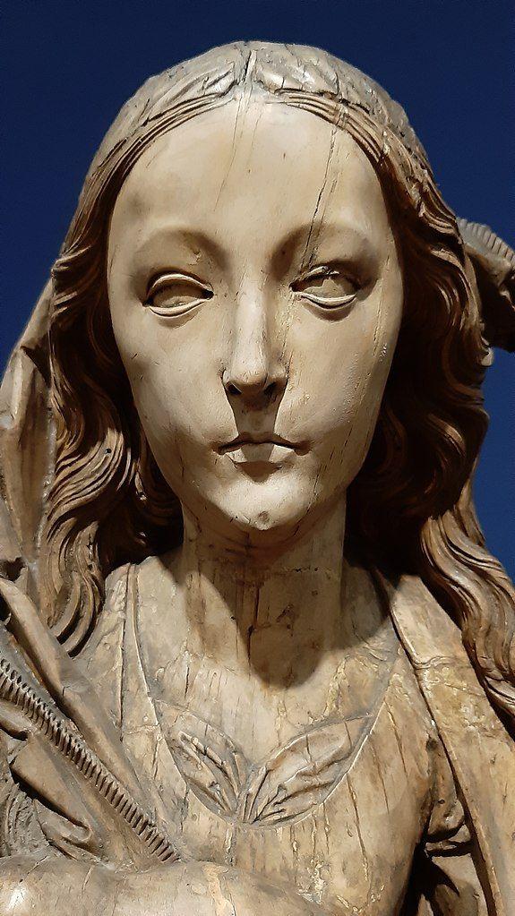 Antique sculpture at Martin Von Wagner Museum