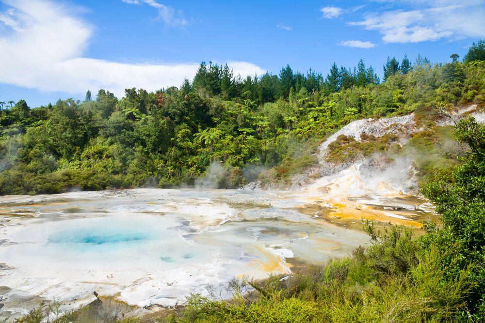 Orakei Korako Geothermal Reserve Park