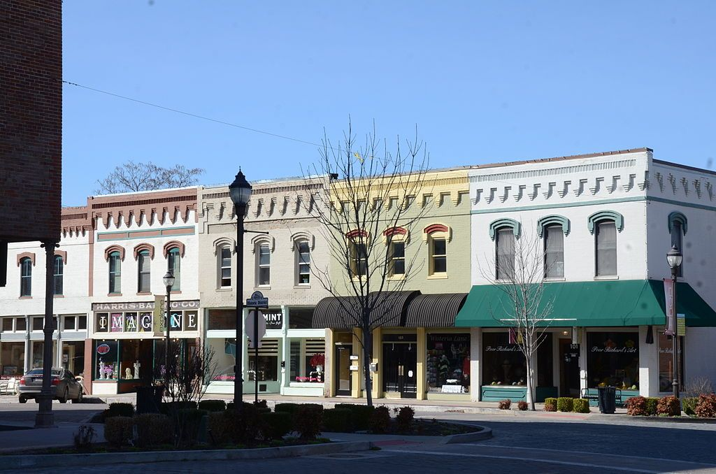 Rogers Commercial Historic District