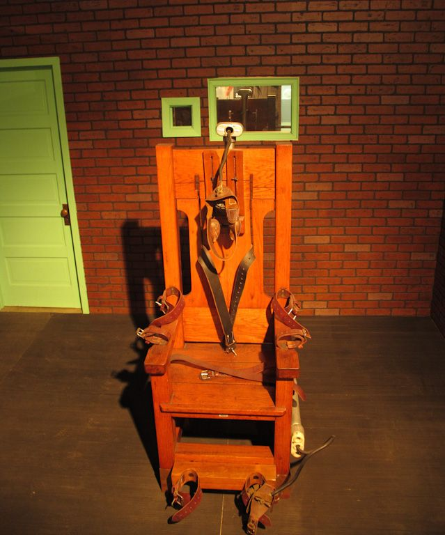 Electric chair in Texas Prison Museum