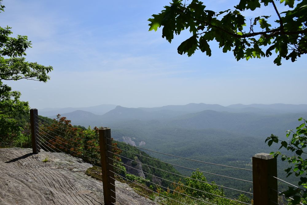 View from Whiteside Mountain