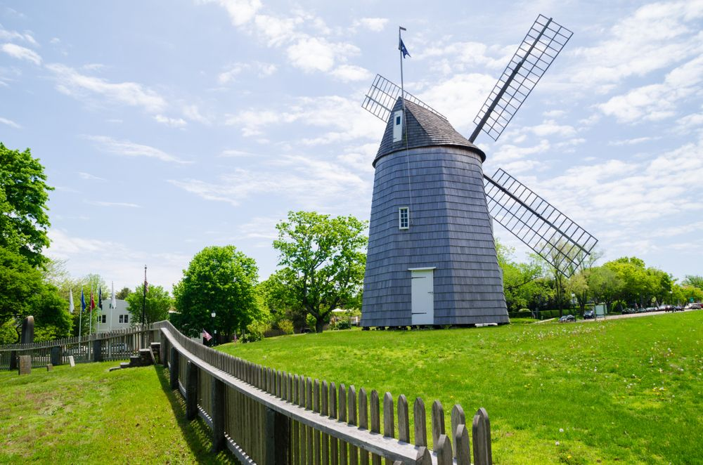Windmills in Long Island