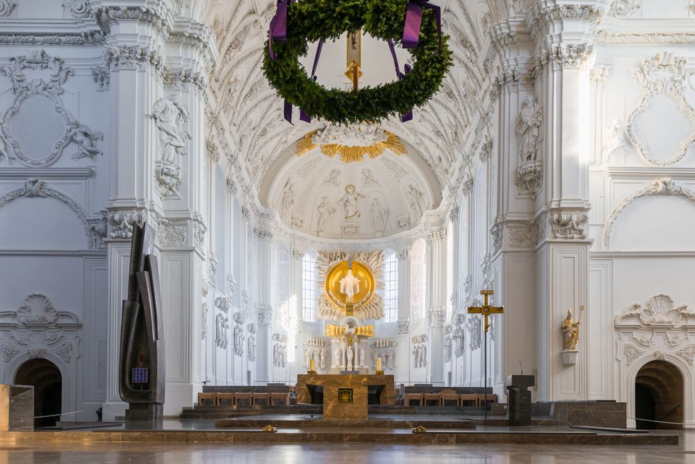 Interior of Wurzburg Cathedral