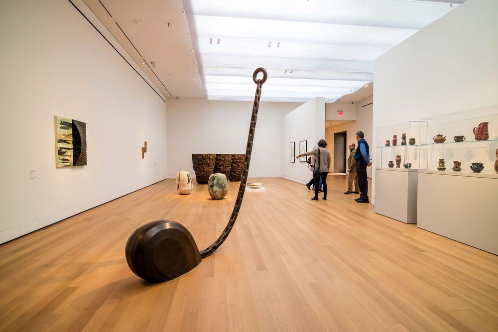 Display at Yale University Art Gallery