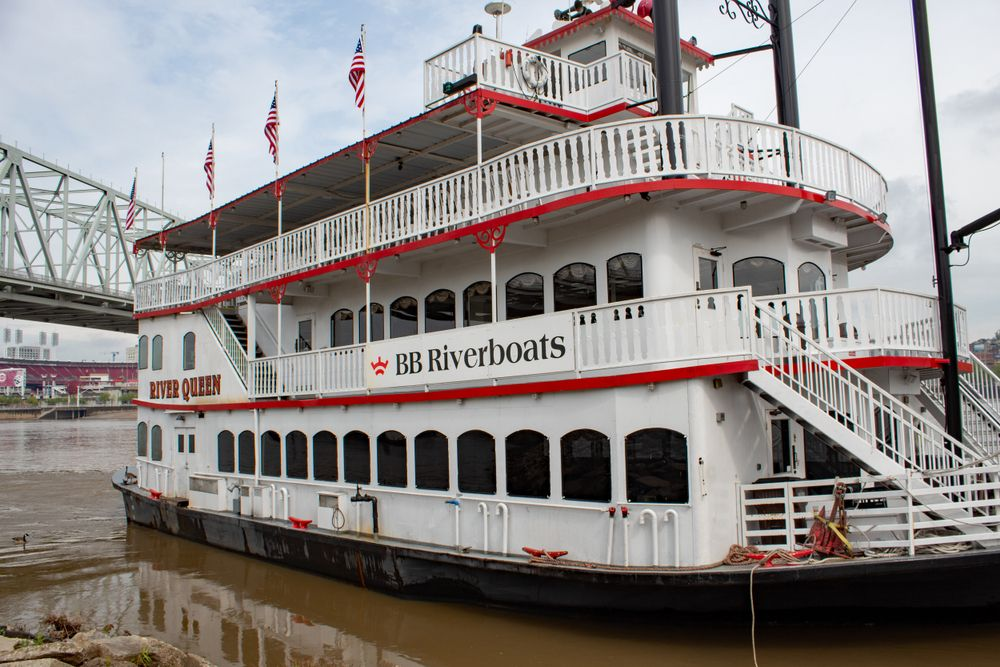BB Riverboats in Newport, KY.