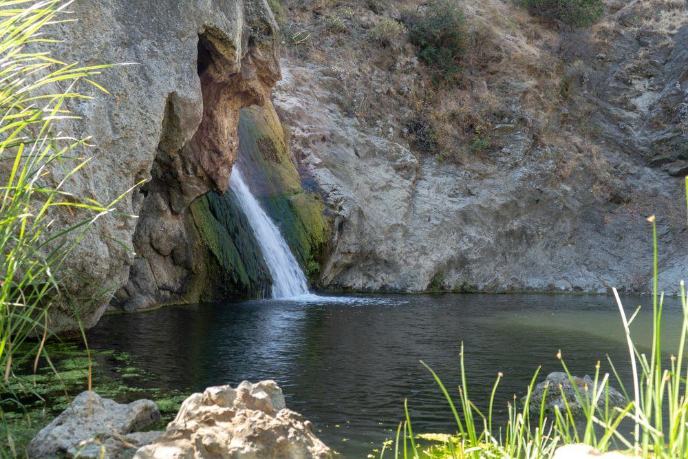 Paradise Falls Waterfall in Thousand Oaks