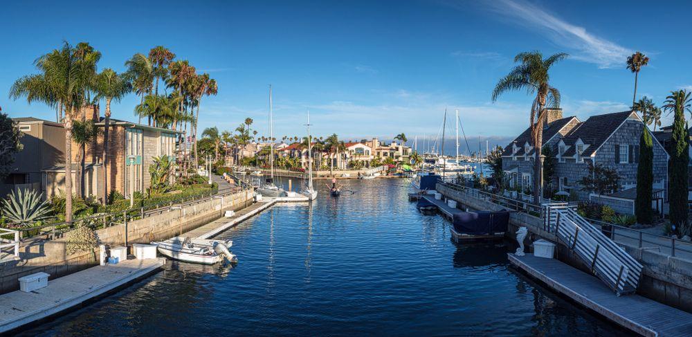 Naples Island in Long Beach