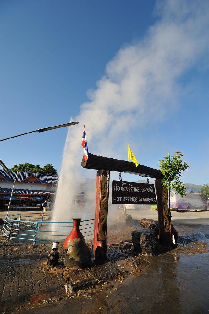 Water in Phra Soet Hot Spring