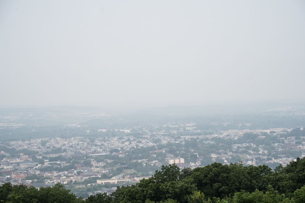 View from Neversink Mountain