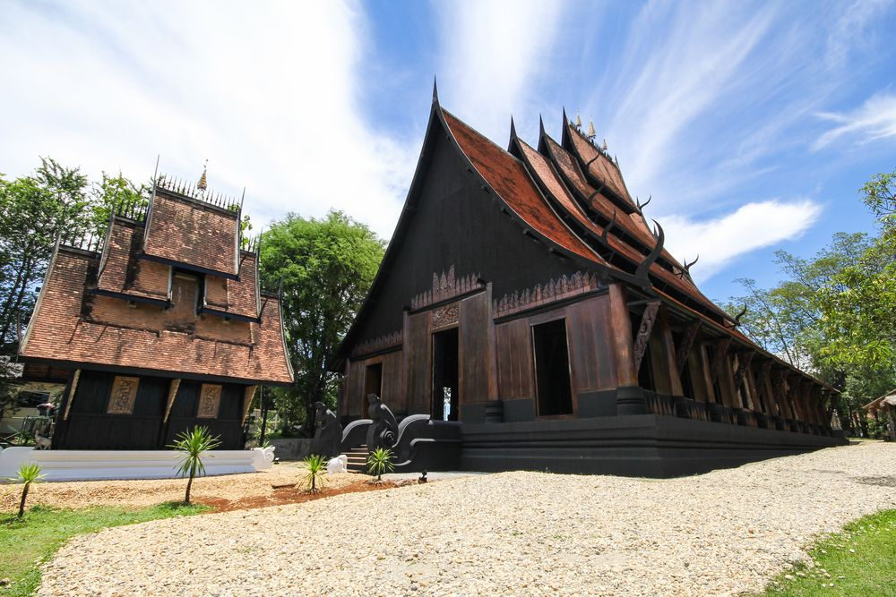 Outside view of Baan Dam Museum