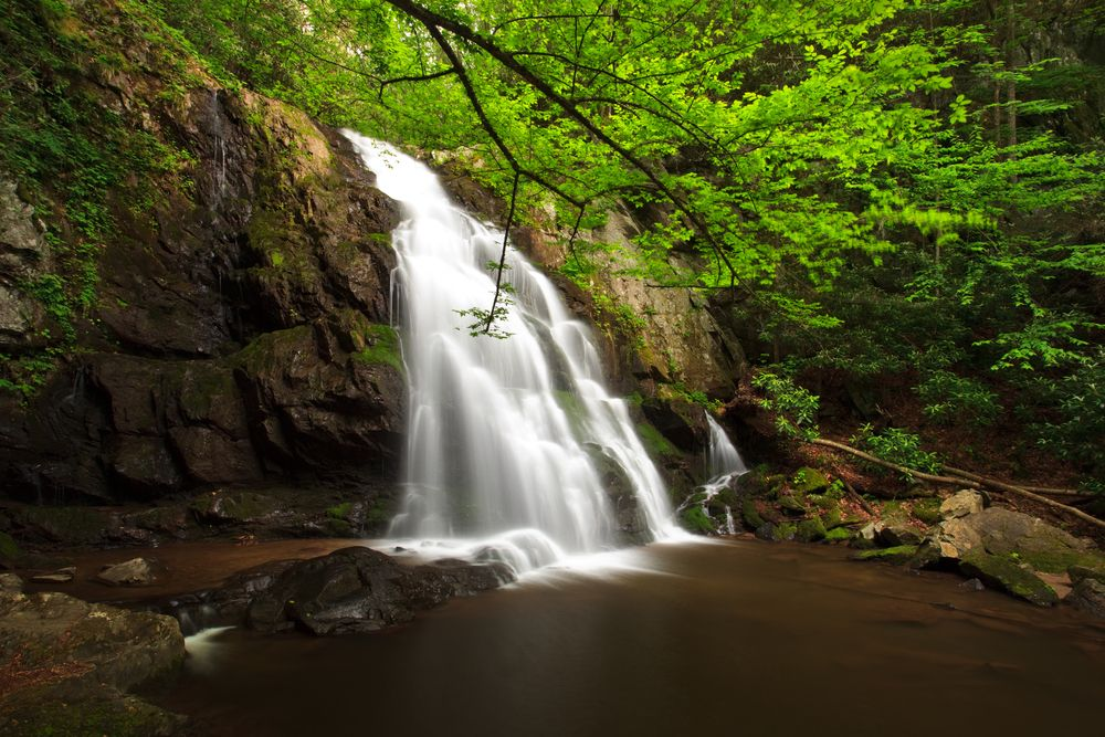 Falls in Great Smoky Mountains Institute