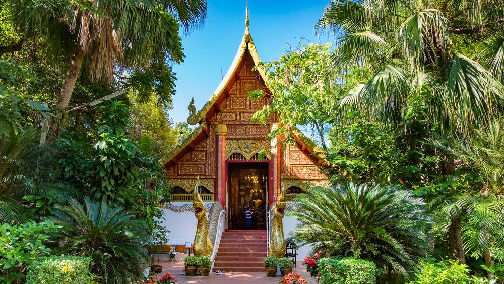 Outside view of Wat Phra Kaew