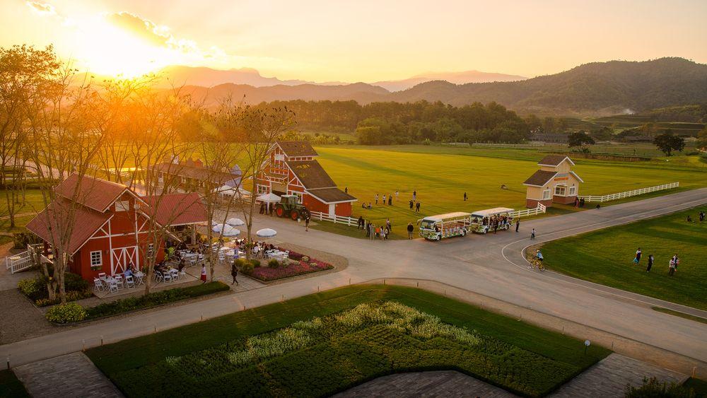 Sunset in Singha Park