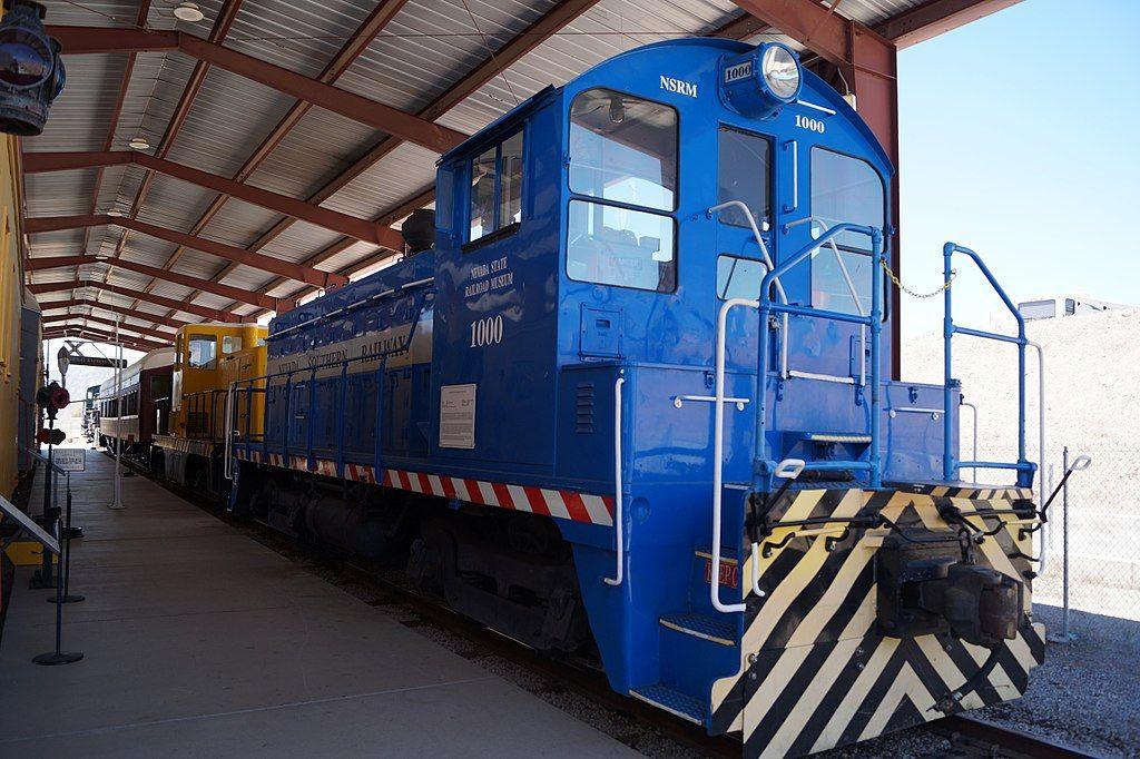 Nevada State Railroad Museum in Boulder City