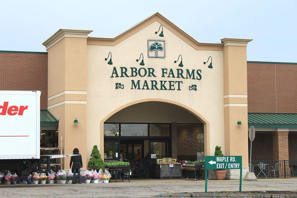 Outside Ann Arbor Farmers Market
