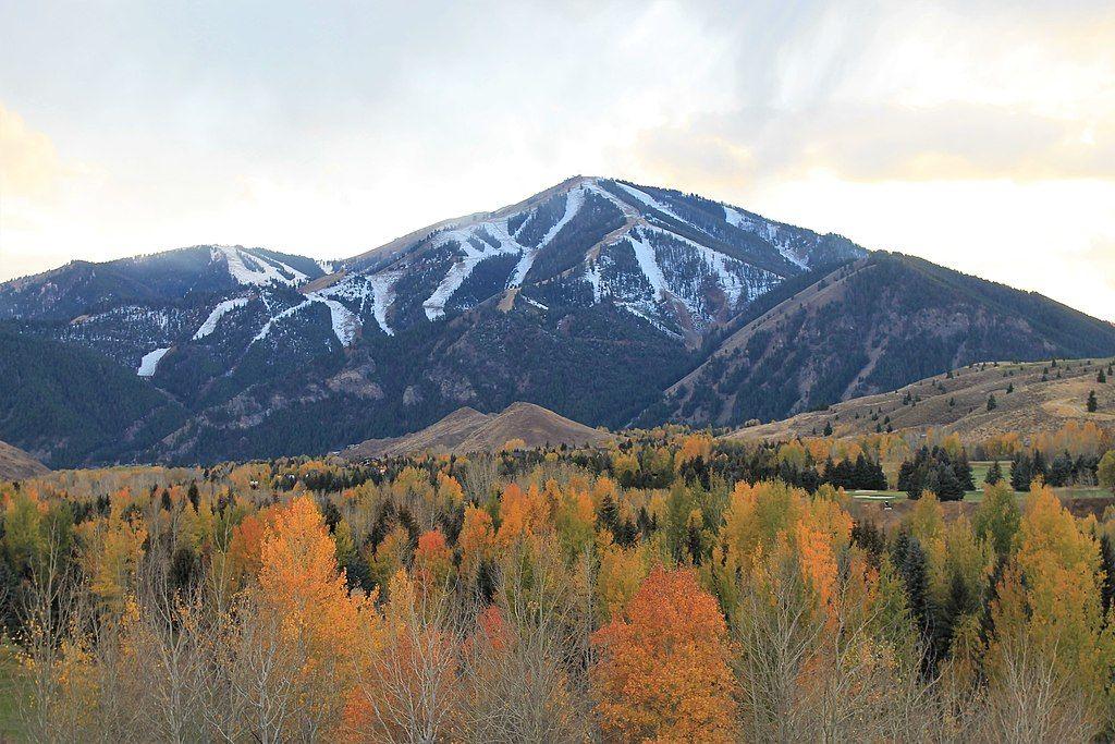 Bald Mountain in Idaho