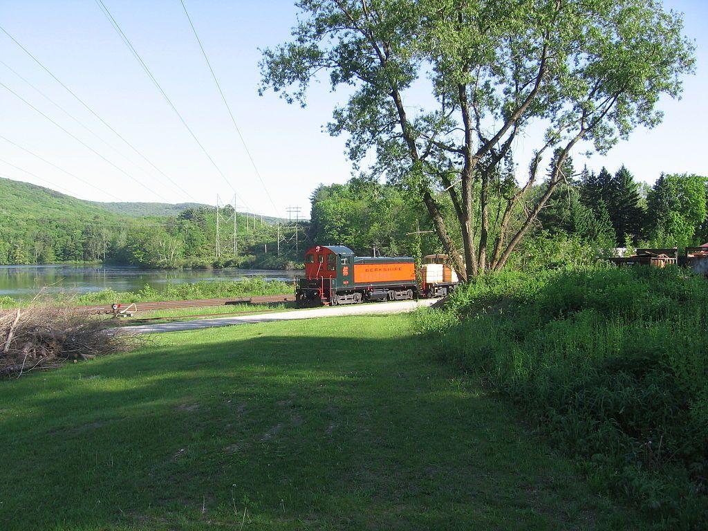View of Berkshire Scenic Railway Museum