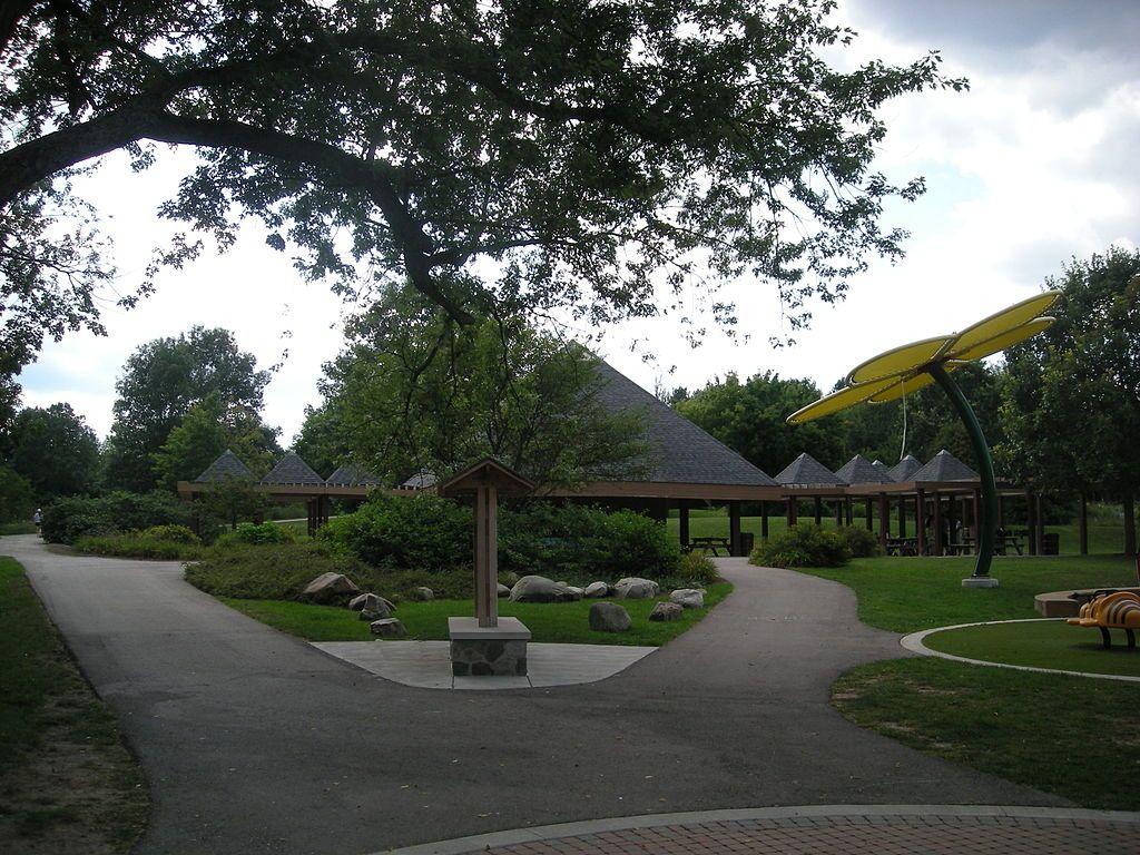 Platt Pavilion at County Farm Park in Ann Arbor