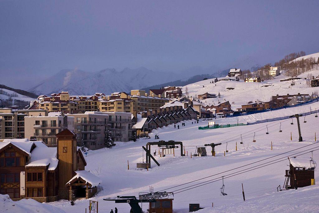 Snow in Crested Butte Ski Area