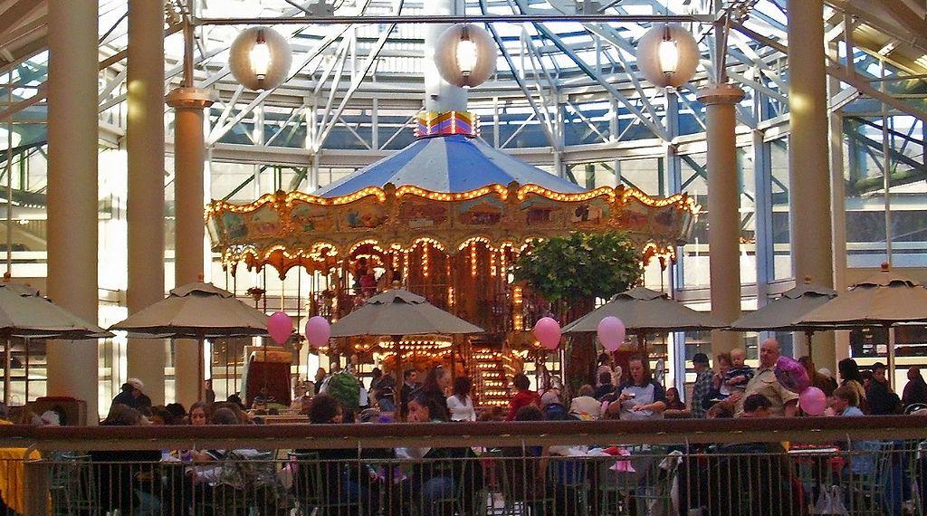 Inside View of Danbury Fair Mall