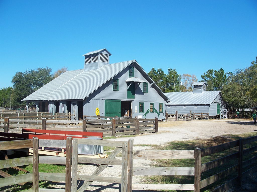 Outside Florida Agricultural Museum
