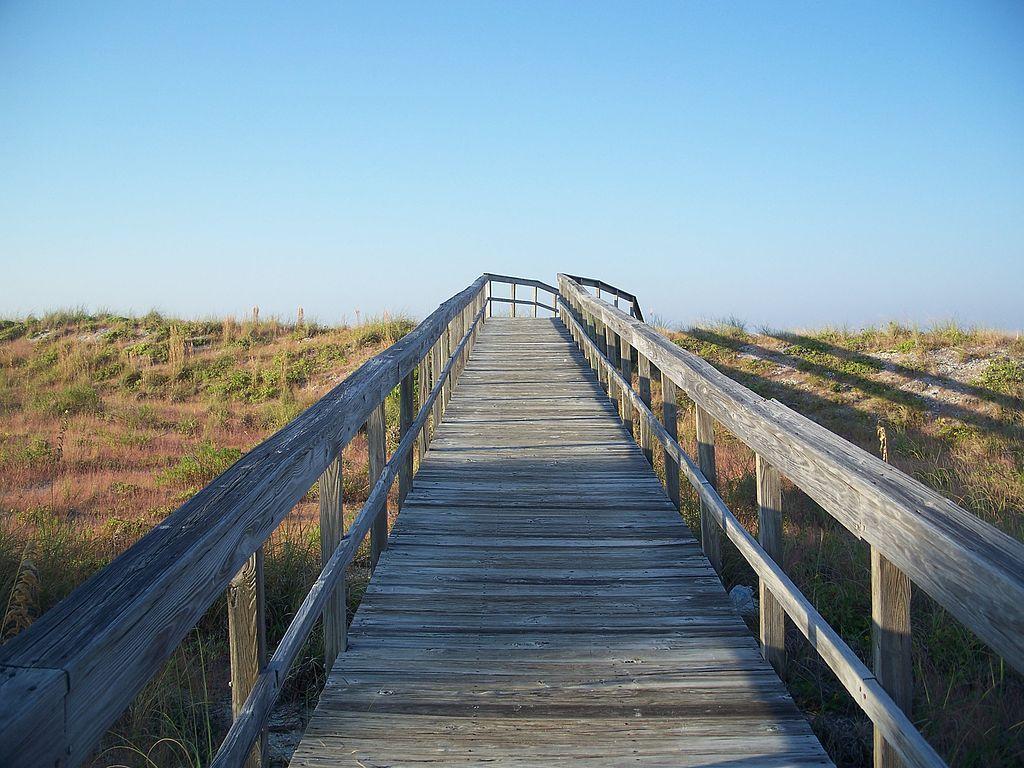 Boardwalk in Gasparilla Island State Park