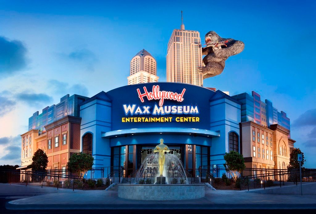 Outside View of Hollywood Wax Museum