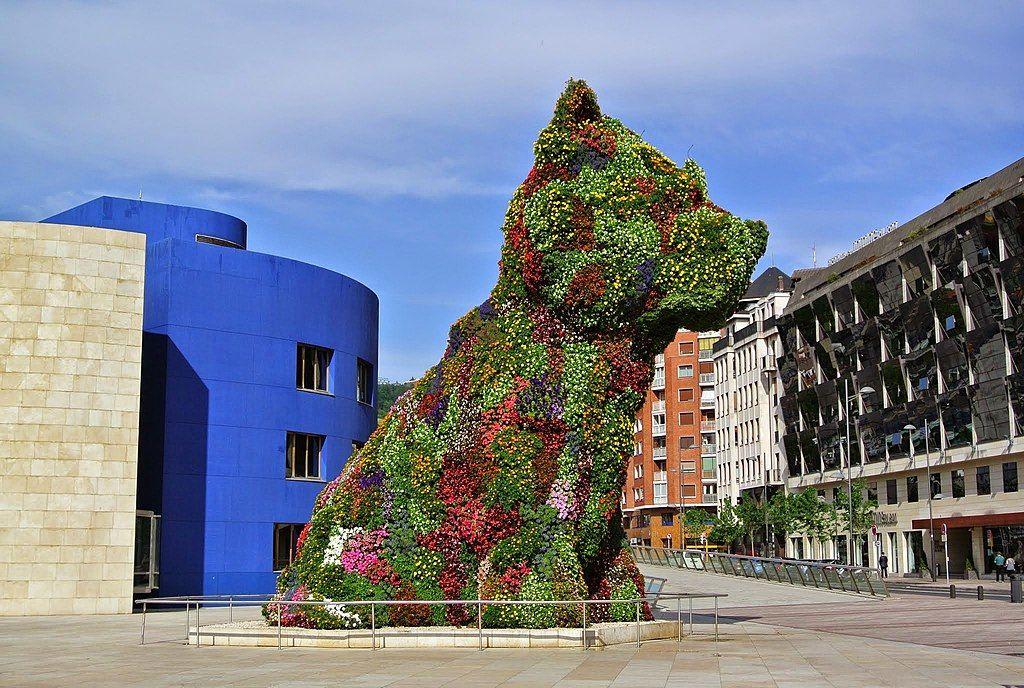 Indautxu in Bilbao, Spain