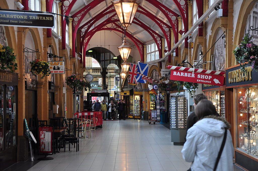 Inside Victorian Market