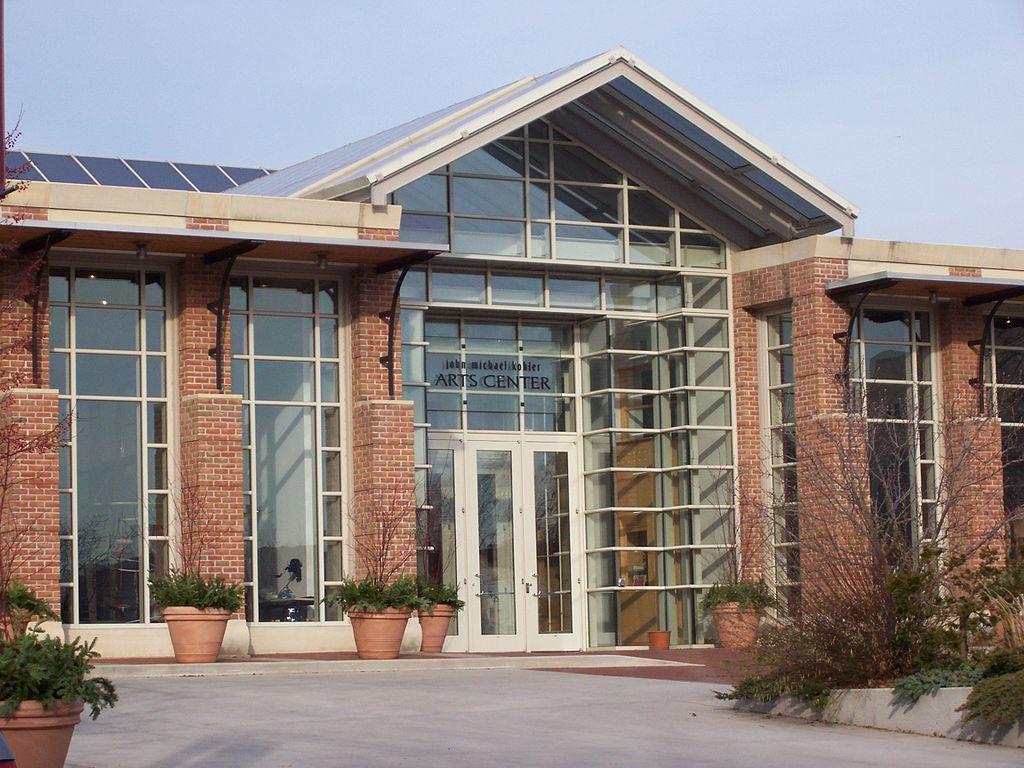 Outside John Michael Kohler Arts Center