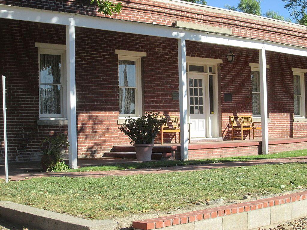 Outside View of John Rains House
