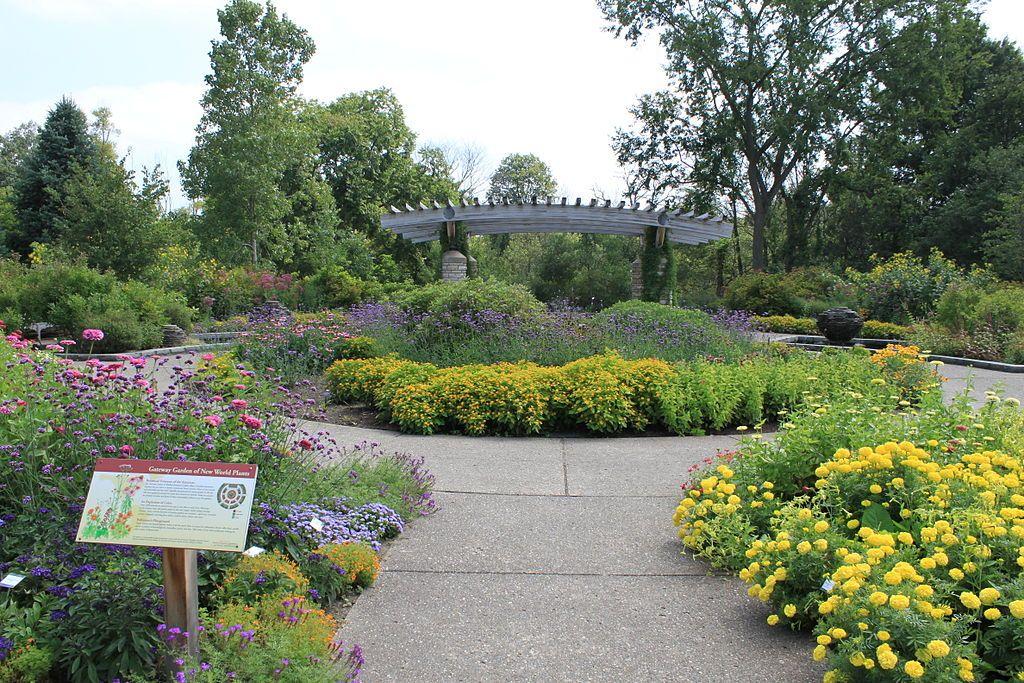 Garden in Matthaei Botanical Gardens & Nichols Arboretum