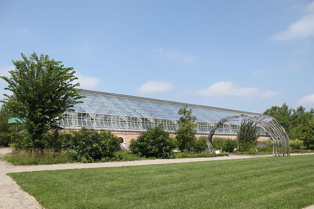 Matthaei Botanical Gardens Greenhouse