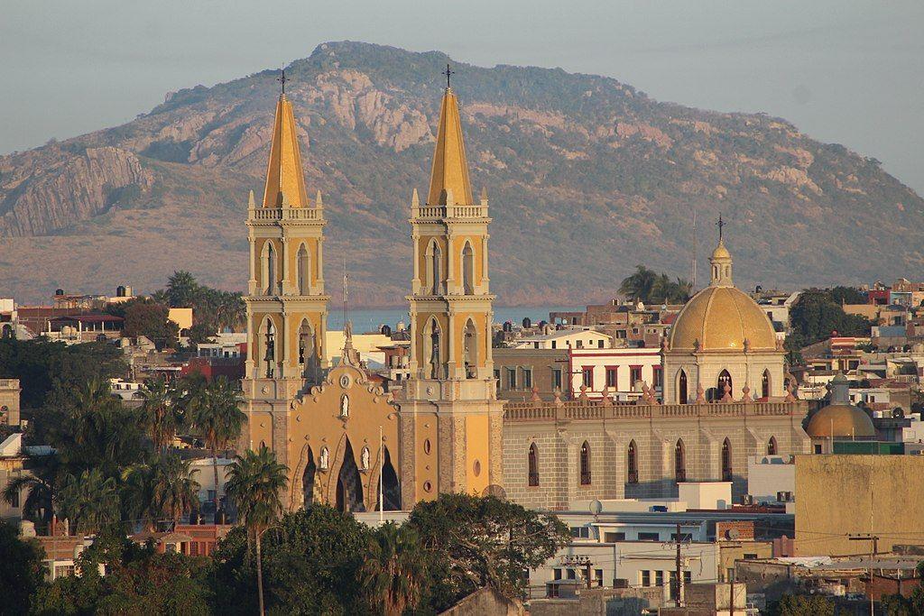 View at Mazatlan Cathedral