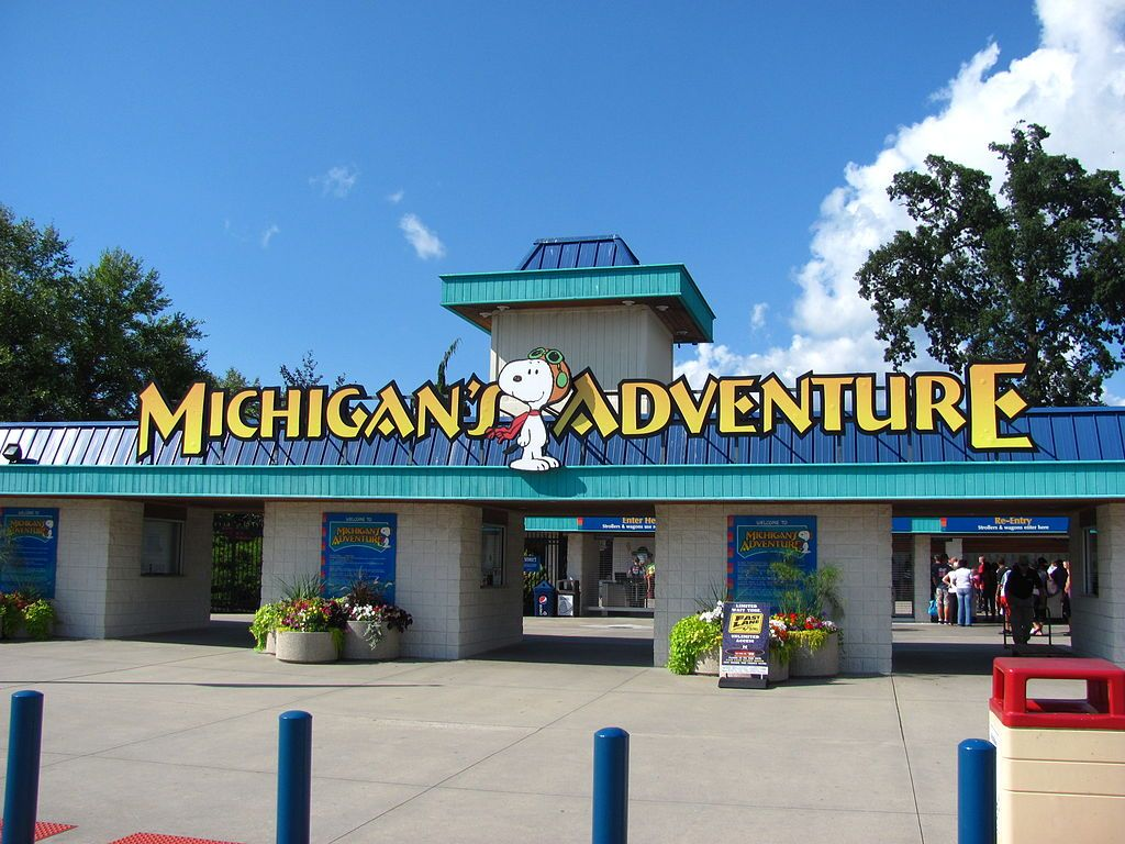 Outside Michigan's Adventure