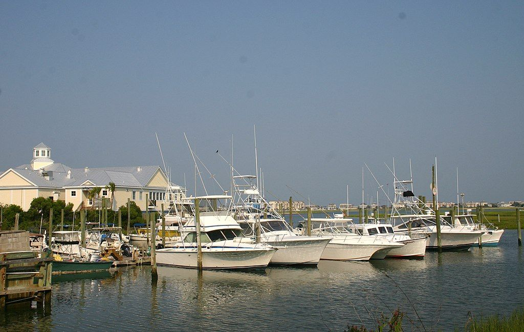 View of Murrells Inlet Fishing Charters