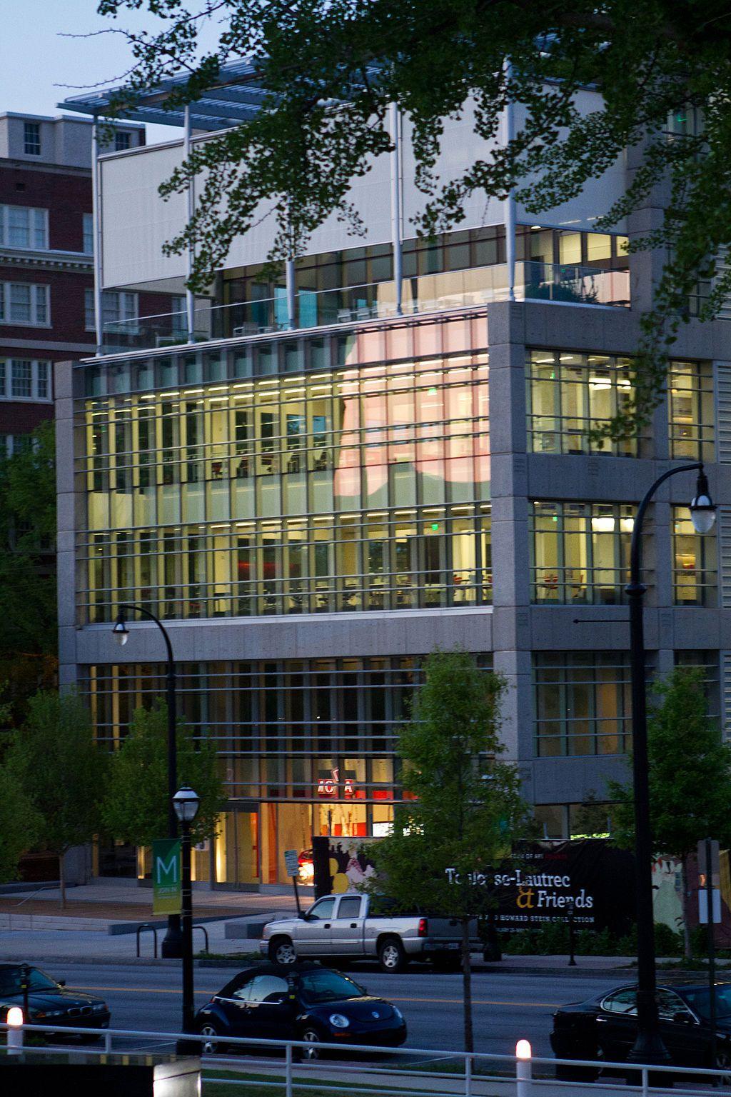 Outside Museum of Design Atlanta
