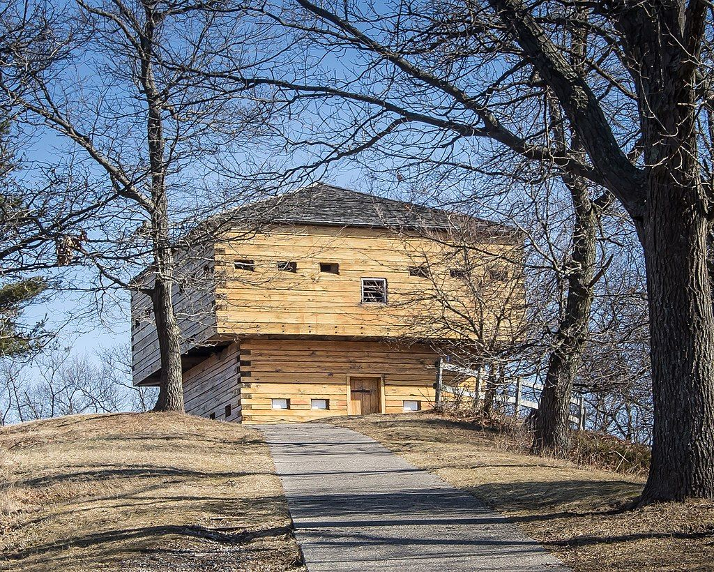 Blockhouse in Muskegon State Park
