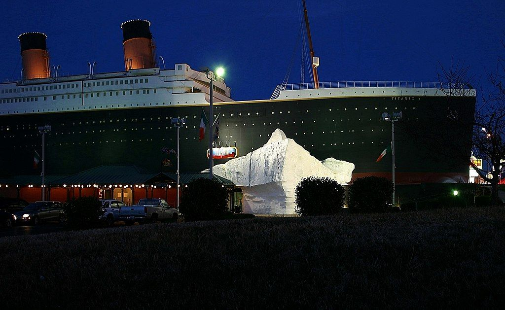 Titanic Museum Attraction in Branson, MO