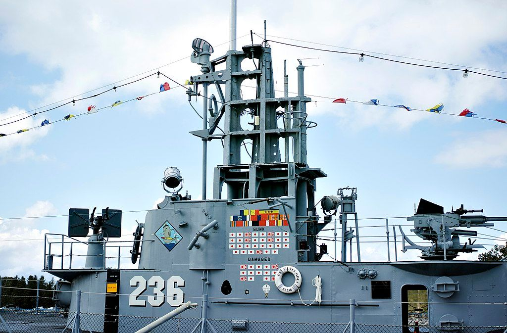 Outside USS Silversides