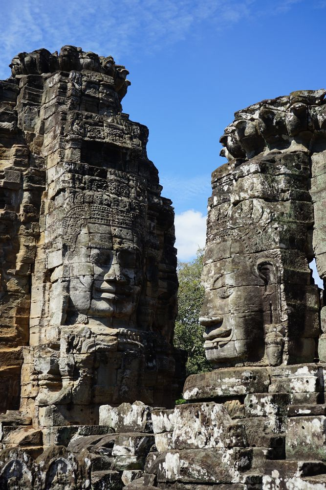 Sculptures at Angkor Wat