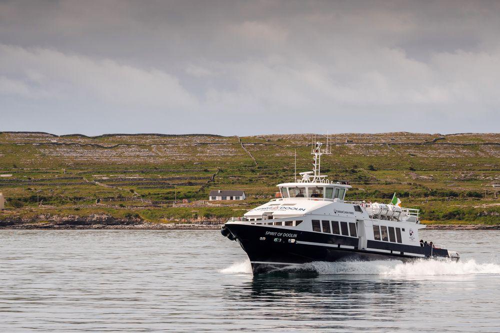 Ferry boat in Aran Islands