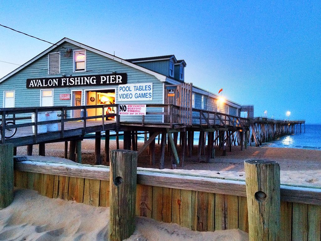Outside view of Avalon Fishing Pier