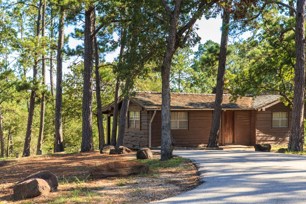 Cabins in Bastrop State Park