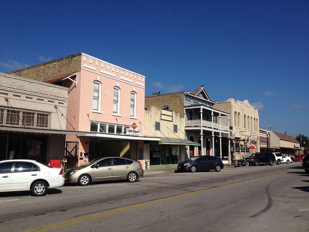 Bastrop's Main Street