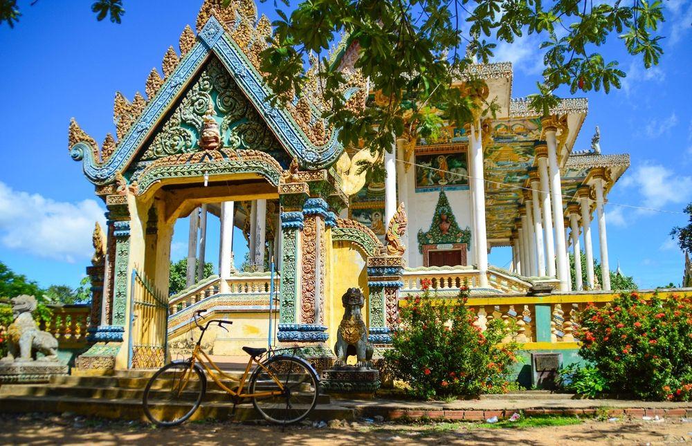 Buddhist temple at Battambang
