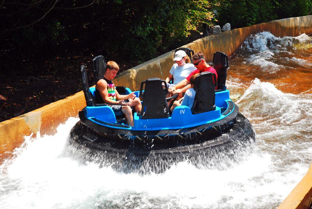 Water ride at Busch Gardens Williamsburg