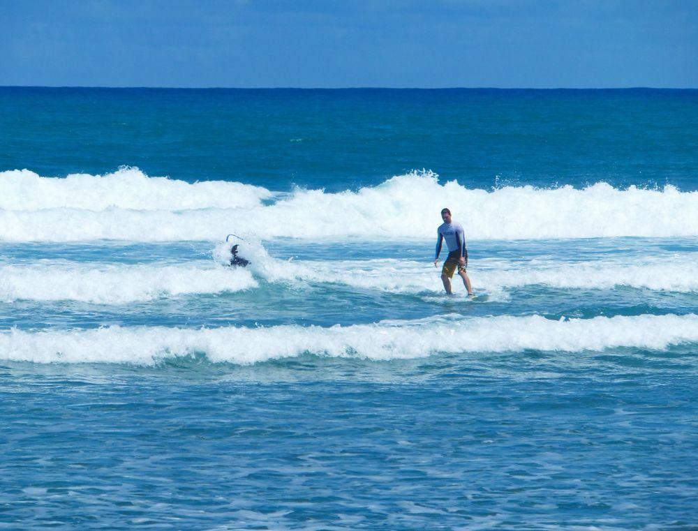 Surfers at Cabarete